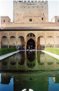 Un des patios de l'Alhambra