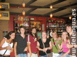 Soirée dans un bar à tapas