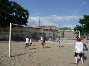 voley playa estudiantes