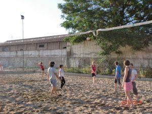 Activité de l'école d'espagnol Delengua: Le volleyball