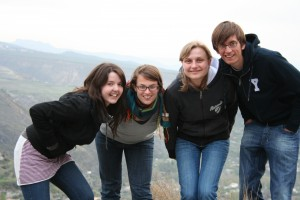 Les élèves de notre école d'espagnol Delengua adorent les sorties organisées dans la montagne!