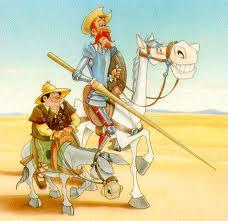 """Vous pourrez lire ou relire la fameuse histoire de """"Don Quijote"""" de Cervantés"""