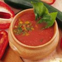 Venez essayer notre recette du gazpacho sur notre site web