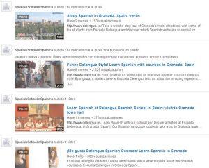 Les dernières vidéos publiées par Delengua